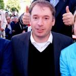 Niels Annen und Maneuela Schwesig