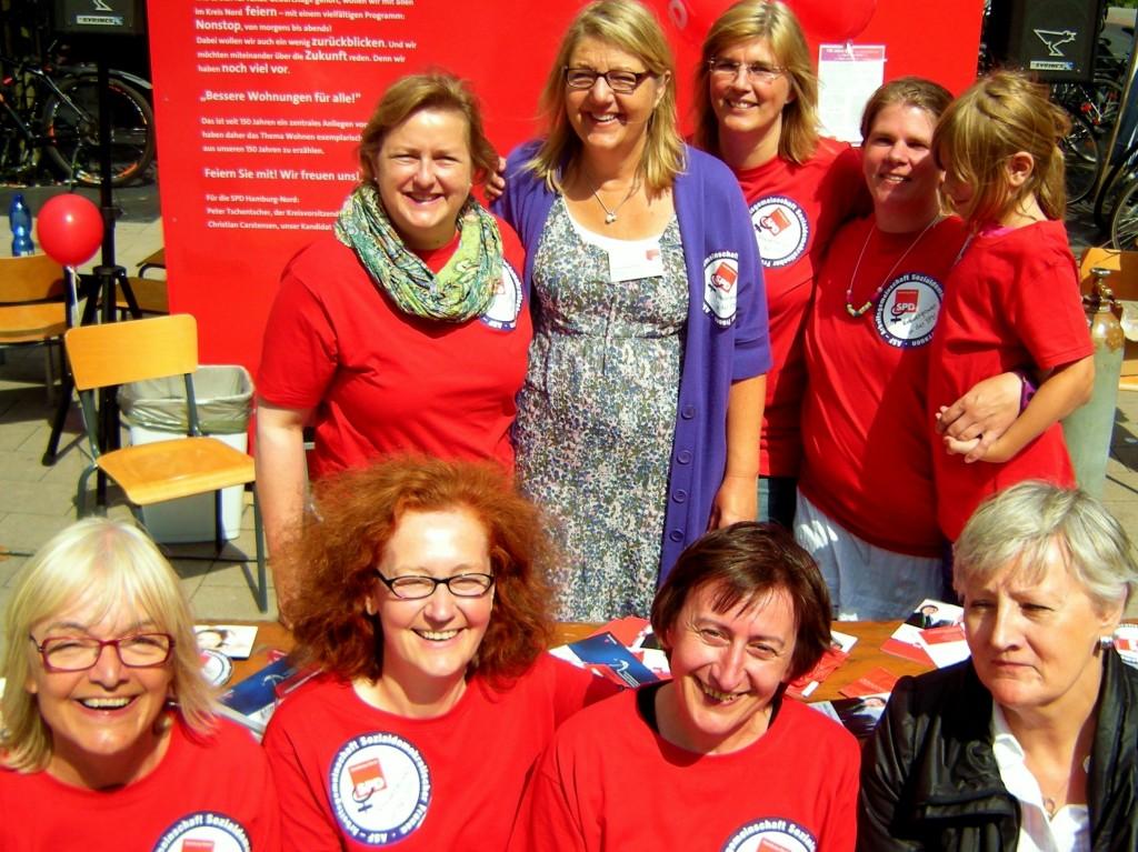 Politisch engagierte Frauen aus Hamburg-Nord